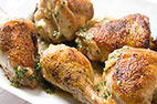 Stovetop Roast Chicken with Lemon-Herb Sauce