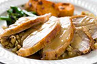Slow-Roasted Turkey with Gravy