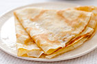Crepes with Sugar and Lemon
