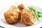 Easier Fried Chicken
