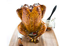 Grill-Roasted Beer Can Chicken for a Charcoal Grill