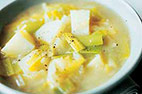 Country-Style Potato-Leek Soup