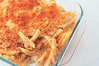 Creamy Baked Four-Cheese Pasta