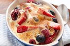 Individual Fresh Berry Gratins