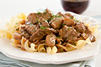 Skillet Beef Stroganoff