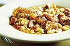 Simplified Cassoulet with Pork and Kielbasa