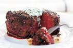 Pepper-Crusted Filet Mignon