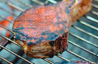 Charcoal-Grilled Pork Chops