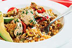 Latino-Style Chicken and Rice (Arroz con Pollo)