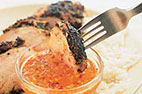 Thai-Style Grilled Chicken with Spicy Sweet and Sour Dipping Sauce