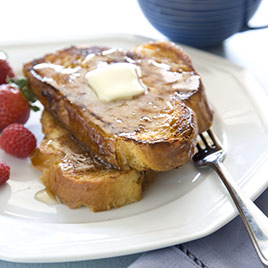 Almond-Crusted French Toast