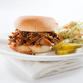 Indoor Pulled Pork with Sweet and Tangy Barbecue Sauce