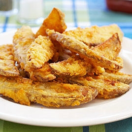 Crunchy Potato Wedges