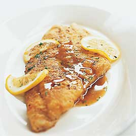 Fish Meuniere with Browned Butter and Lemon