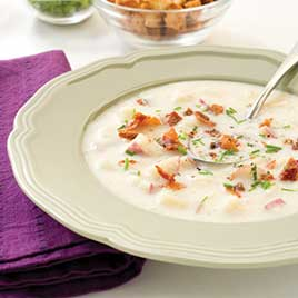 Garlic-Potato Soup