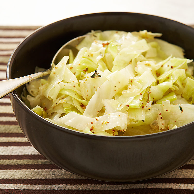 Beer-Braised Cabbage