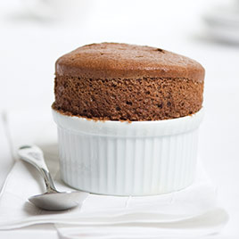 Make-Ahead Chocolate Souffle