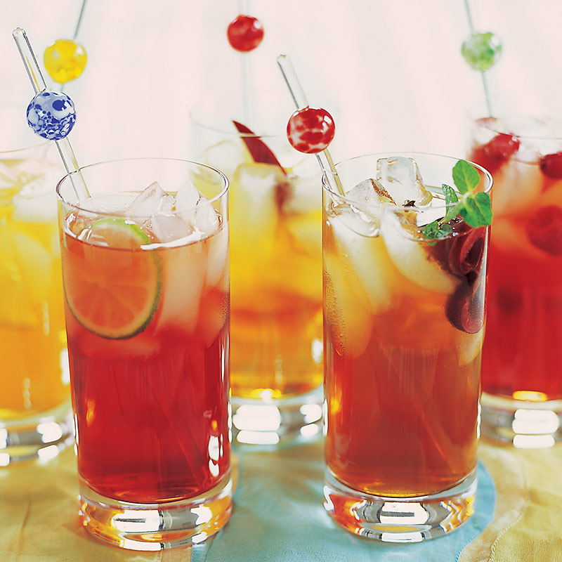 Cherry Lime Rickey Iced Tea