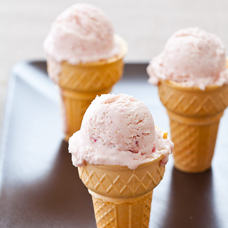 Magic Strawberry Ice Cream