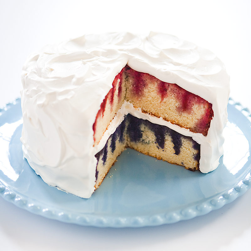 Patriotic Poke Cake