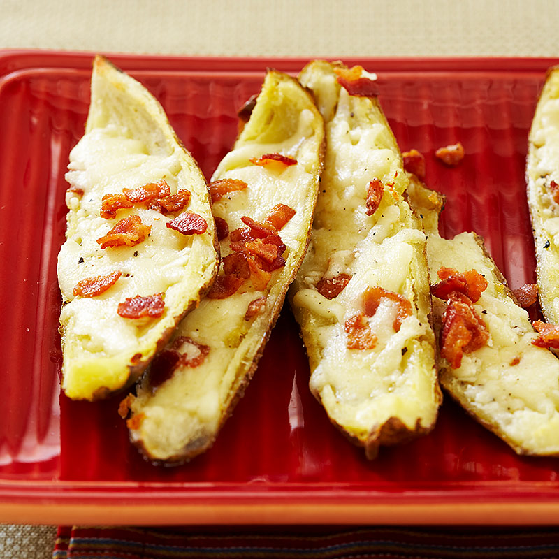 Bacon-Cheddar Potato Skins