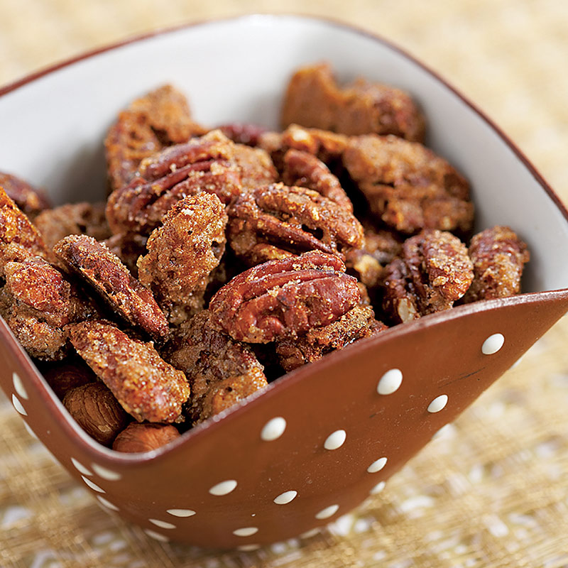 Barbecued Spiced Nuts