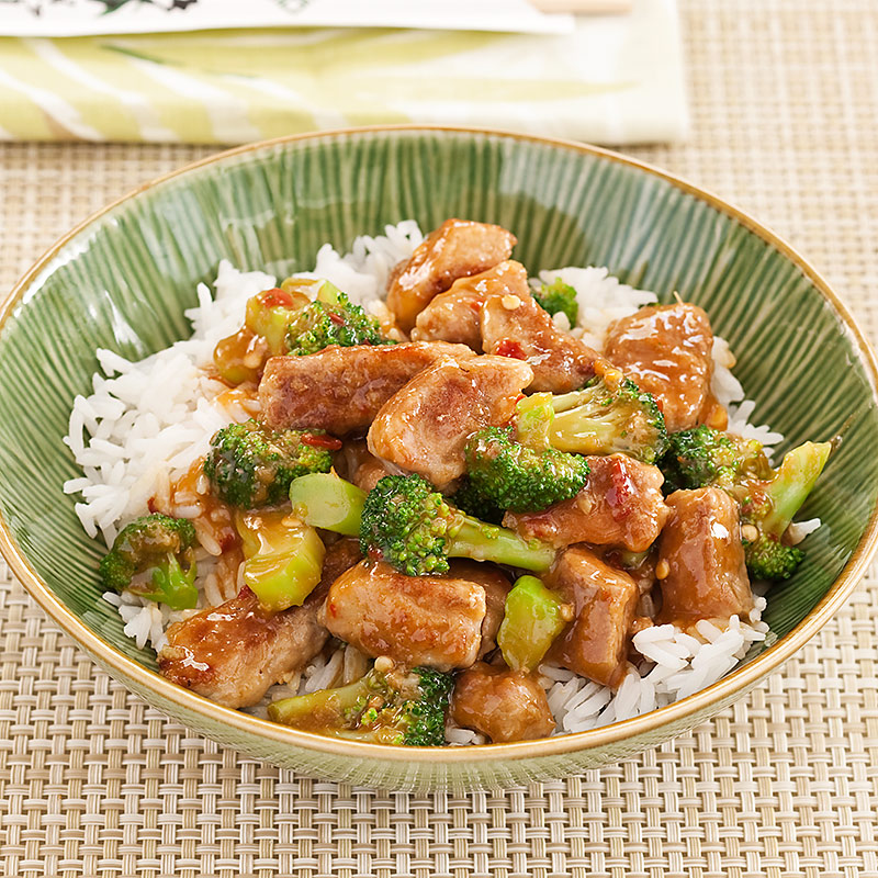 Spicy Pork and Broccoli Stir Fry