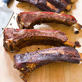 Texas Barbecued Beef Ribs