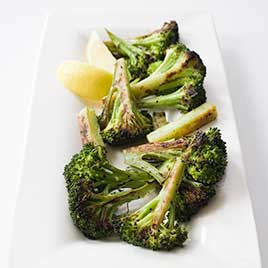 Roasted Broccoli with Optional Garlic