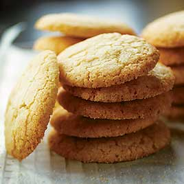 Gingered Sugar Cookies