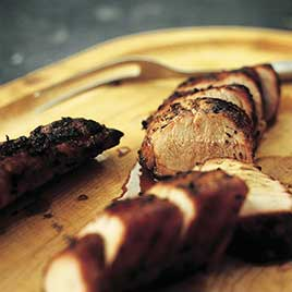 Charcoal-Grilled Pork Tenderloin