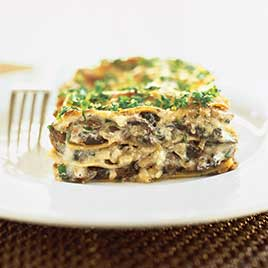 Mushroom Lasagna